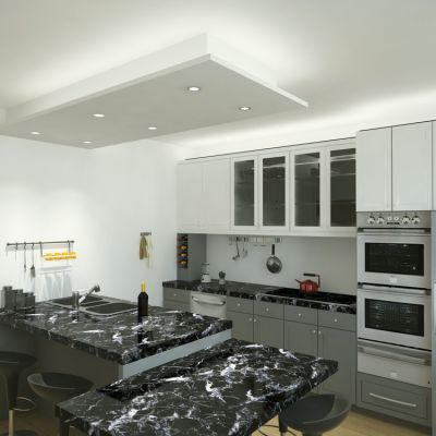 Kitchen; project for a private house